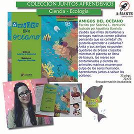 Sabrina L. Venturini - A-Marte - Cuidado del medioambiente - Cuentos cortos - Cuidado del planeta - Actividades medioambiente -