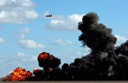 bombing sky