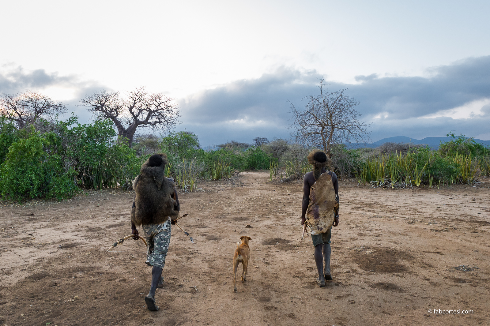 Hadzabe hunting tanzania