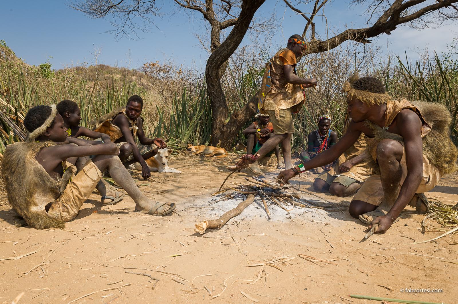 Hadzabe tanzania africa
