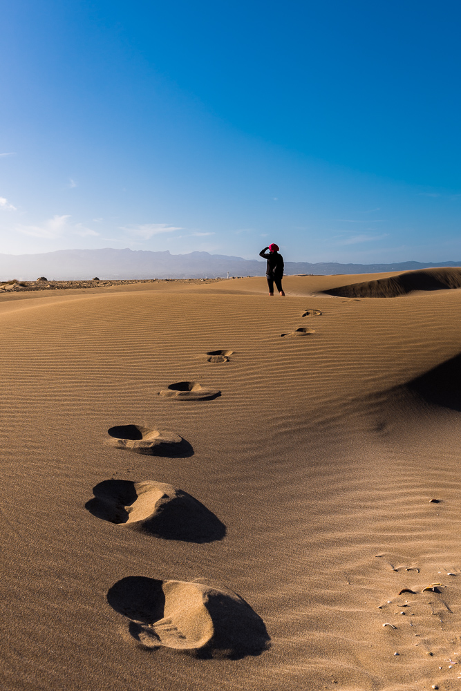 desert sand step