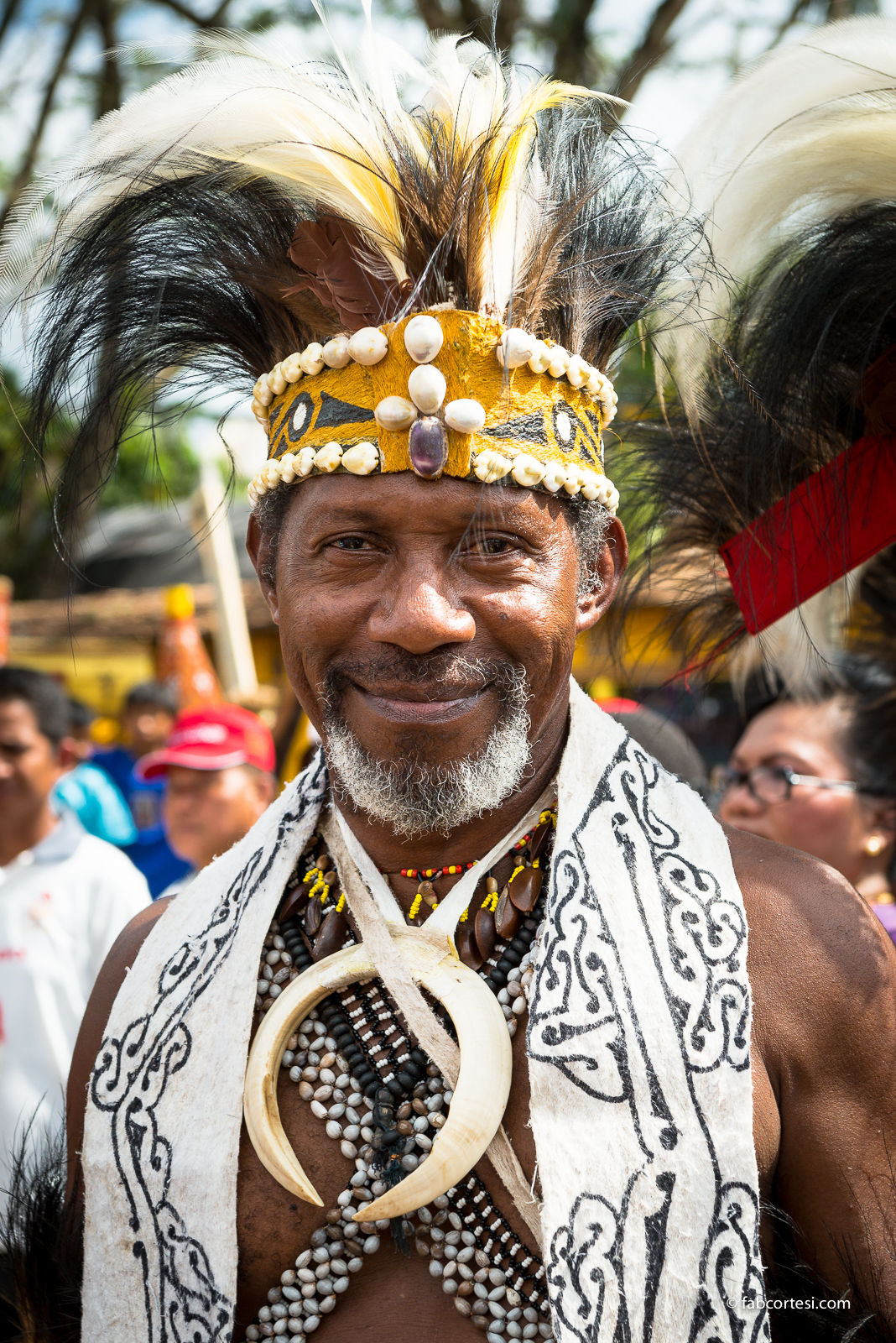 portrait man tribu Papua