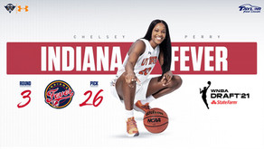Chelsey Perry Makes History as 26th Overall Pick in WNBA Draft