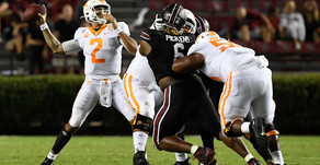 Tennessee Survives with Special Teams Blunder Against South Carolina