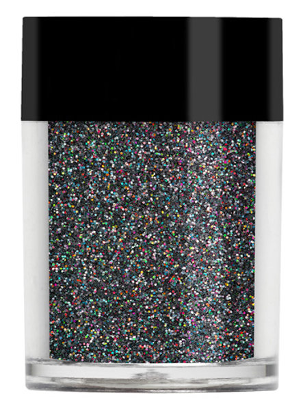 Black Holographic Glitter