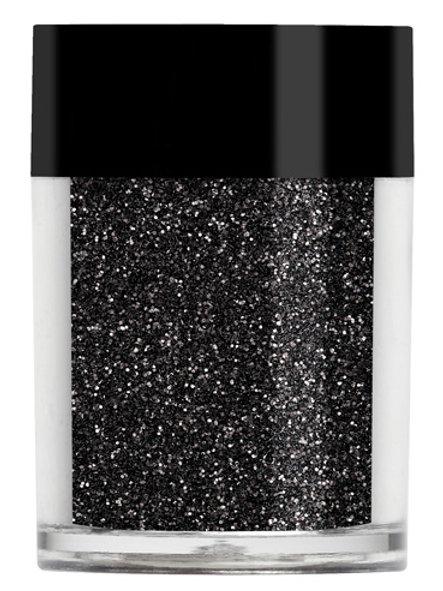Midnight Black Glitter