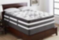 bedroom-serta-queen-mattress-design-ideas-with-white-wall-also-dark-wooden-flooring-plus-white-pillo