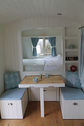 The Shepherd's Hut at Chilworth Woodland Retreat, Hampshire