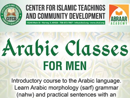 Arabic Classes for Men