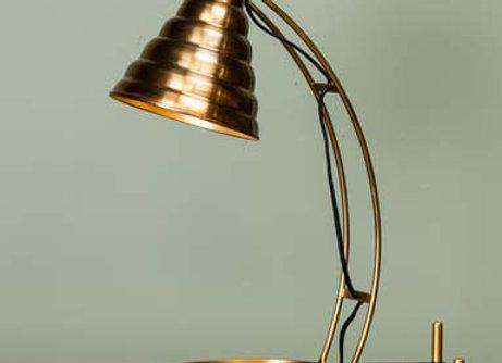 Lampada ottone