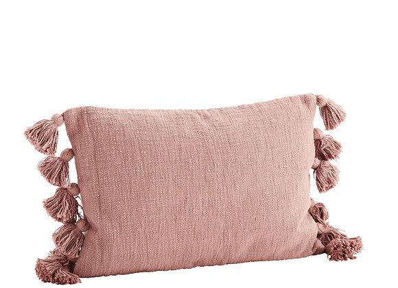 Cuscino cotone  color Rosa scuro