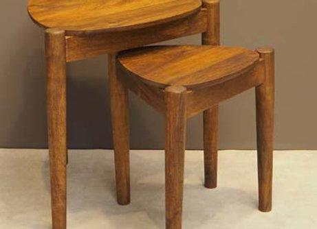Set Tavolini legno