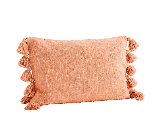 Cuscino cotone  color arancio sorbetto