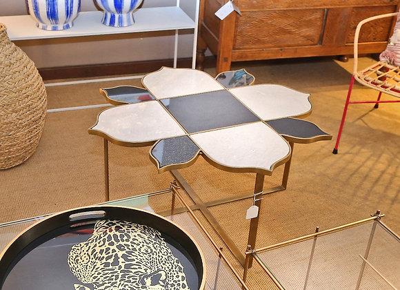 Tavolino bicolore