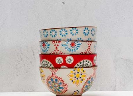 Ciotole ceramica piccole  Set 4 pz