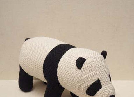 Panda in tessuto