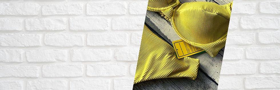 biquini amarelo mostarda capa