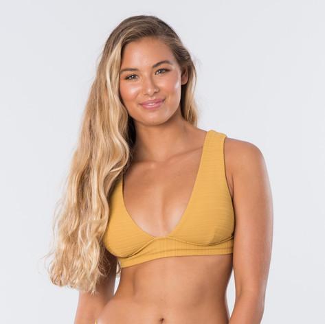 biquíni top amarelo mostarda