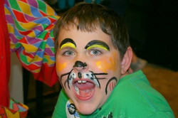 Face+Painting+Boy+Tiger
