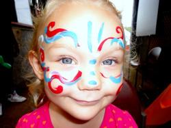 Little+Girl+Face+Paint