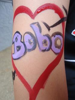 Tatoo+Face+Painting+Bobo+Heart