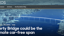 BBC - Liberty Bridge could be the ultimate car-free span