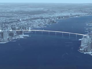 Politico.com - The making of a cross-Hudson pedestrian bridge proposal