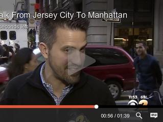 CBS2NY - Walk From Jersey City To Manhattan