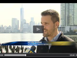 News12NJ - Jersey City man wants to build bridge to NYC