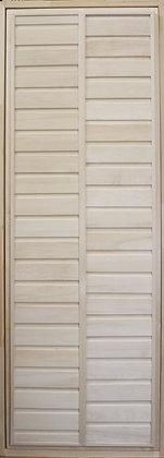 Дверь глухая с коробкой, Липа, Ширина/Высота: 700*1900 мм