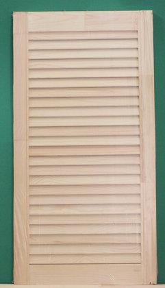 Дверь мебельная жалюзийная, 20*344 мм
