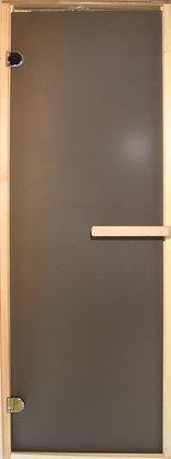 """Дверь стекло """"Бронза матовое"""" с коробкой, Осина, Ширина\ Высота: 690*1800 мм"""