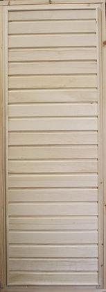 Дверь глухая с коробкой, Осина, Сорт А, Ширина/Высота: 700*1900 мм