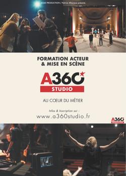 Affiche A360 Studio