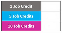 ERS Job credit price box BLANK PRICES.jp