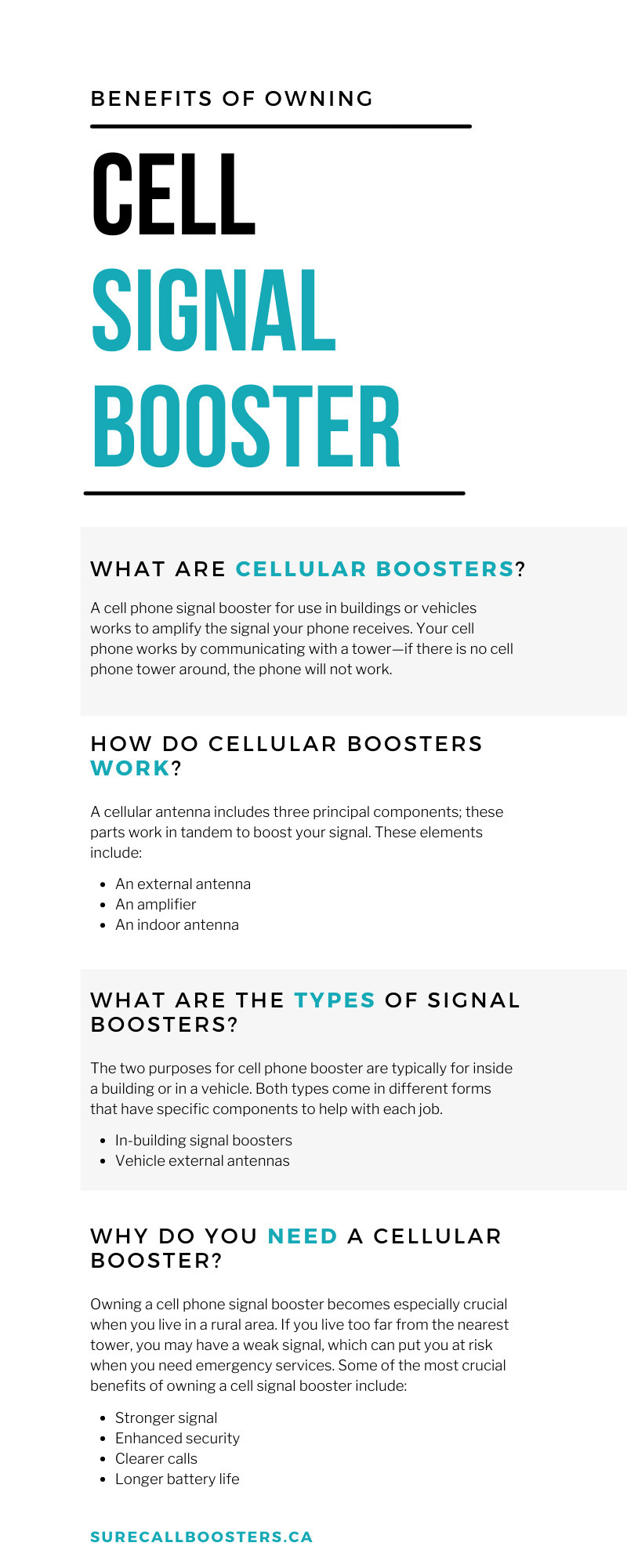 Benefits of Owning a Cell Signal Booster