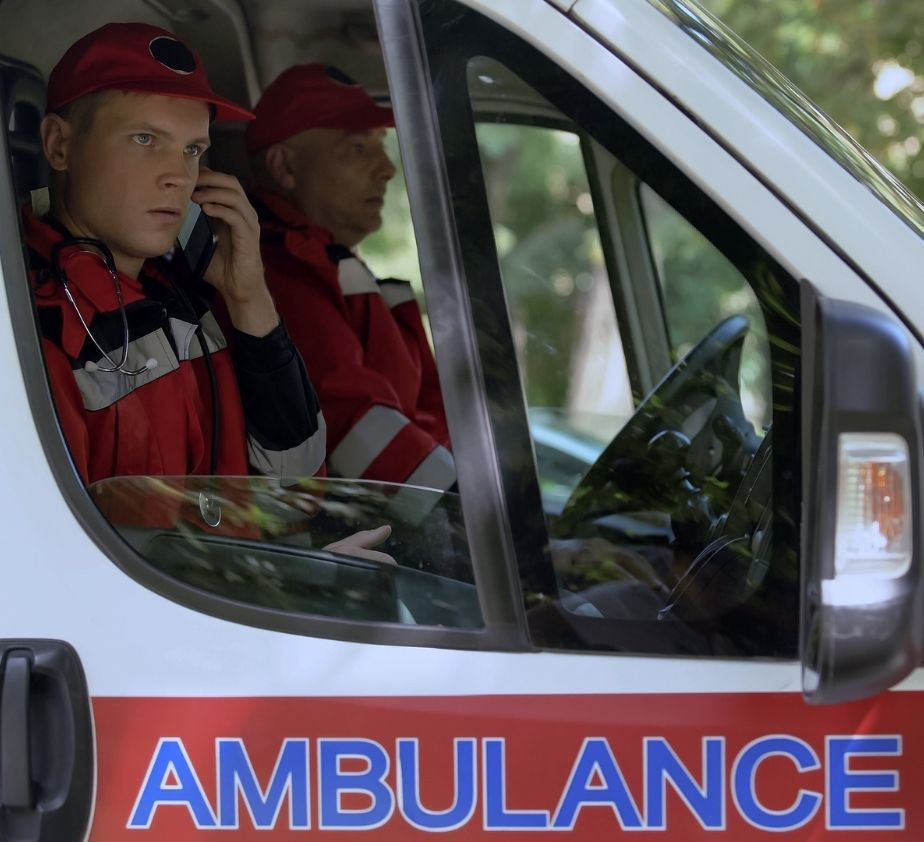 first responder looking for cell phone signal