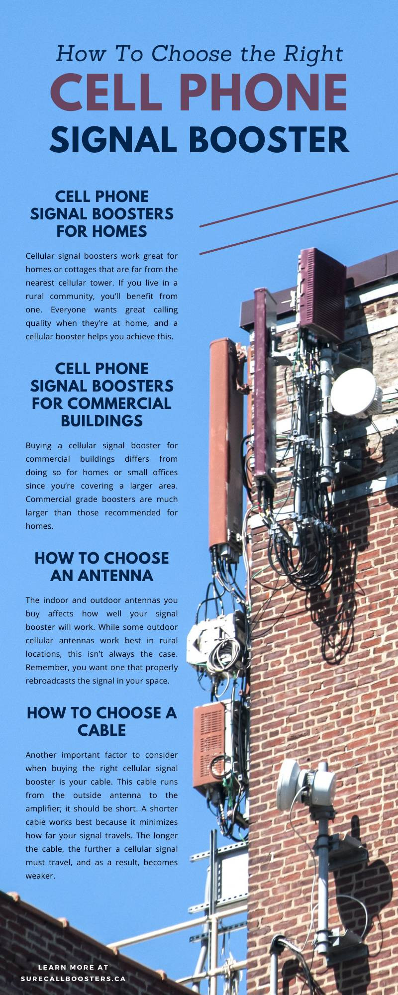 How To Choose the Right Cell Phone Signal Booster