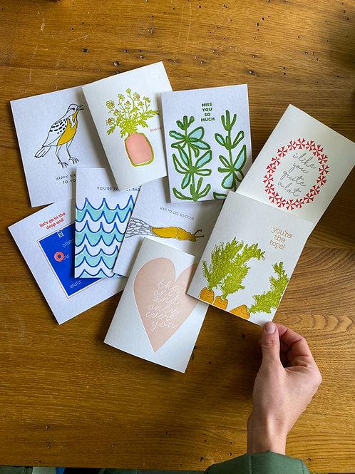 8 Card Image Group Set