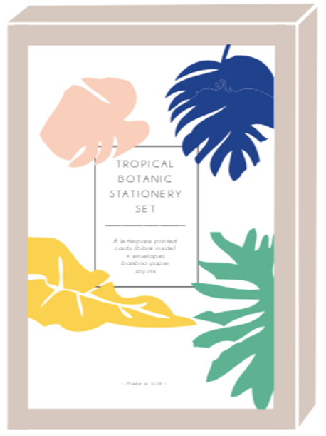 #24 Tropical Boxed Set Cards