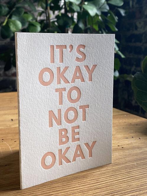 #140 It's Okay To Not Be Okay