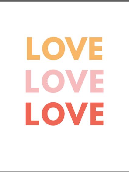 #135 Love Love Love