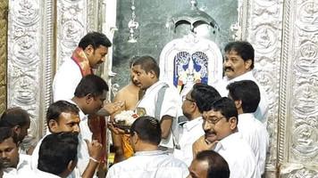 విజయదశమి వేడుకల్లో కడప ఎంపీ అవినాష్ రెడ్డి!!