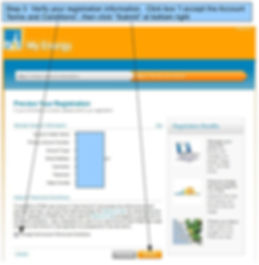 PG&E My Energy Usage Registration