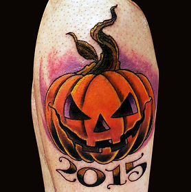Pumpkin Tattoo