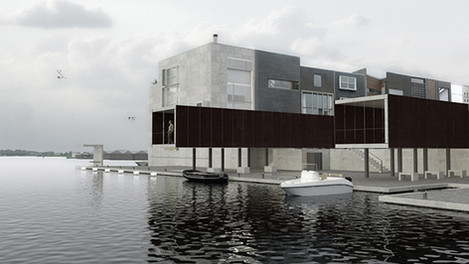 tassello mancante - edificio residenziale al borneo amsterdam