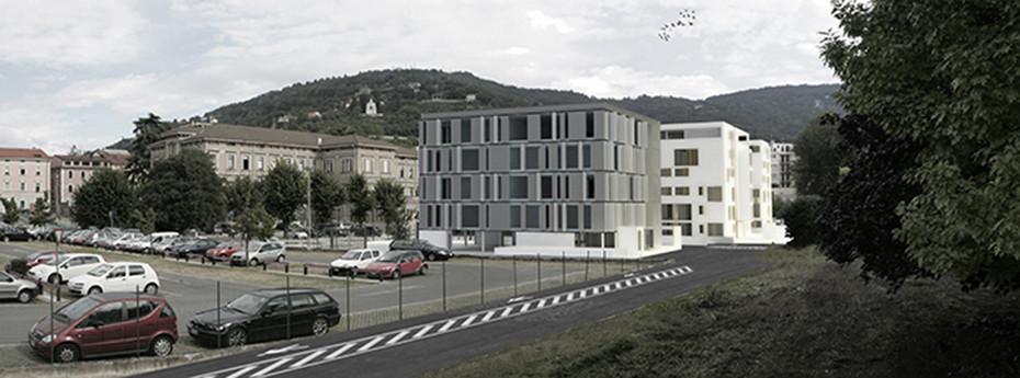 centro direzionale e residenziale a brescia