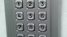 Keyless Lock on Door to Pool Bathrooms