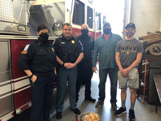 Holiday Gifts to First Responders