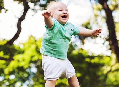 Helping Babies Learn to Walk